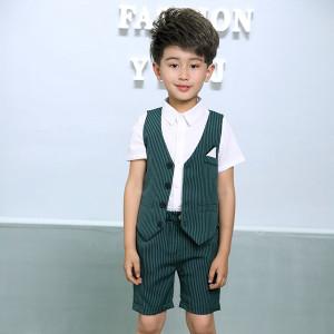 Bộ vest bé trai mùa Hè Mã: T501