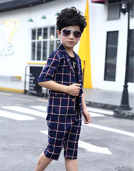 Bộ vest bé trai mùa hè