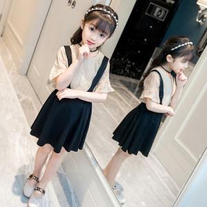 Set váy bé gái mùa Hè Mã: G512