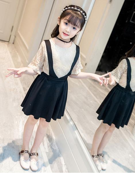 Set váy bé gái mùa hè
