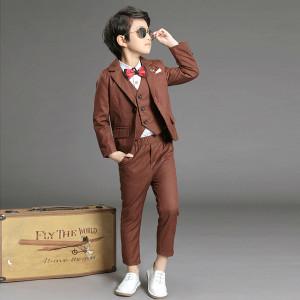 Bộ vest bé trai Mã: T340