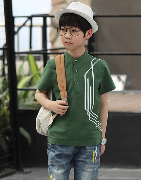 Bộ quần áo bé trai hè 2018