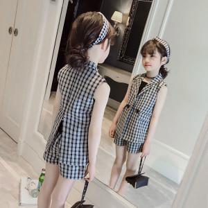 Bộ vest bé gái mùa Hè Mã: G516
