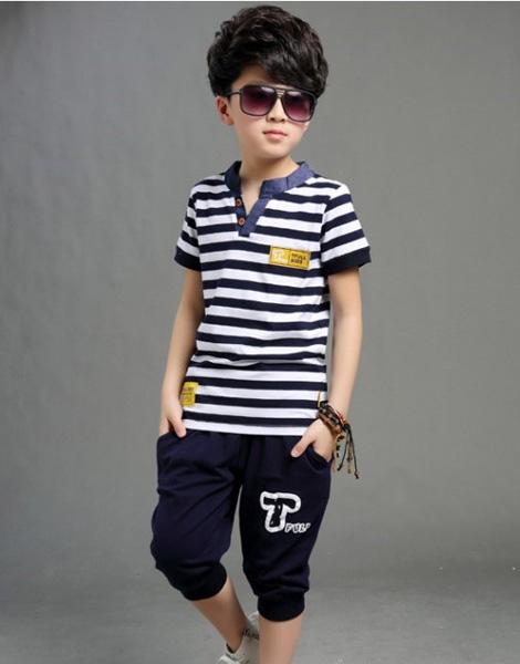quần áo bé trai hè 2018