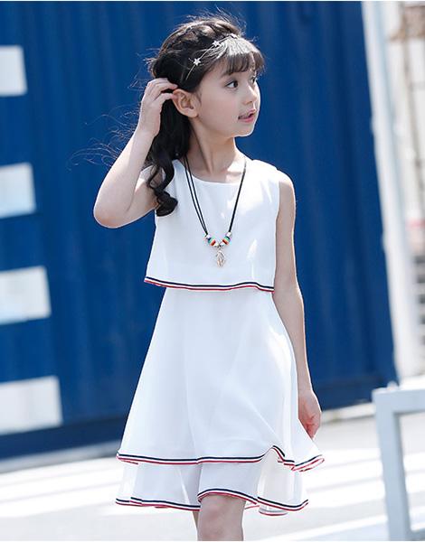Váy bé gái mùa hè