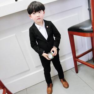 Bộ vest bé trai màu đen Mã: T511
