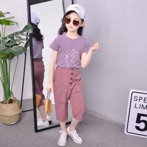 Bộ quần áo bé gái Hè 2018 Mã: QG09