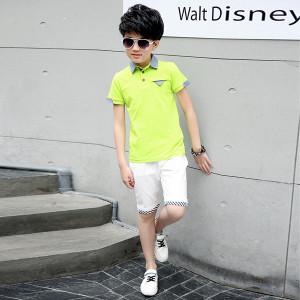 Bộ quần áo bé trai mùa Hè Mã: T504