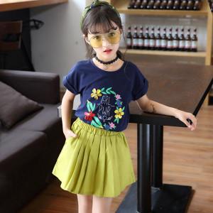 Set váy bé gái mùa Hè Mã: G509