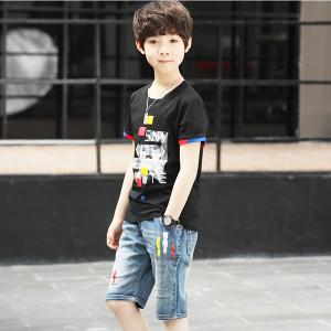 Bộ quần áo bé trai Hè 2018 Mã: T10
