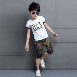 Bộ quần áo bé trai Hè 2018 Mã: T12
