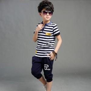 Bộ quần áo bé trai Hè 2018 Mã: T500