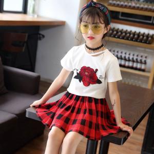 Set váy bé gái Hè 2018 Mã: G19